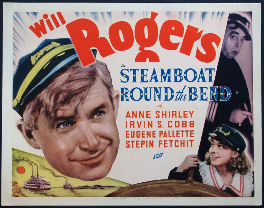 STEAMBOAT ROUND THE BEND @ FilmPosters.com