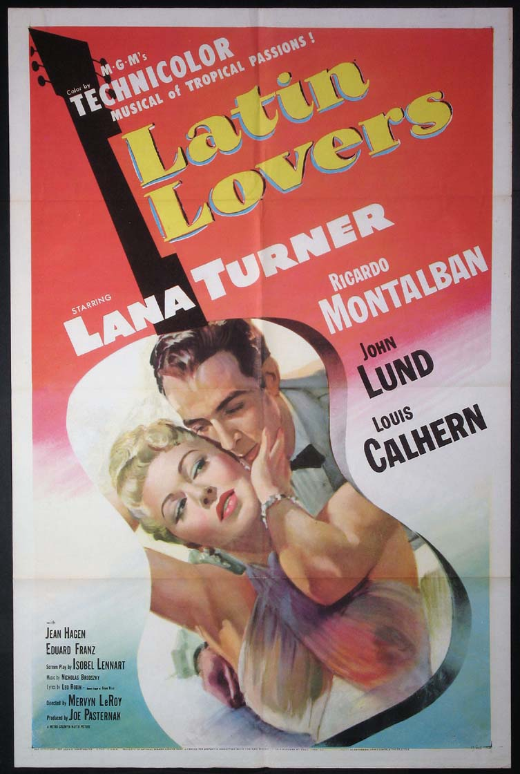 LATIN LOVERS @ FilmPosters.com