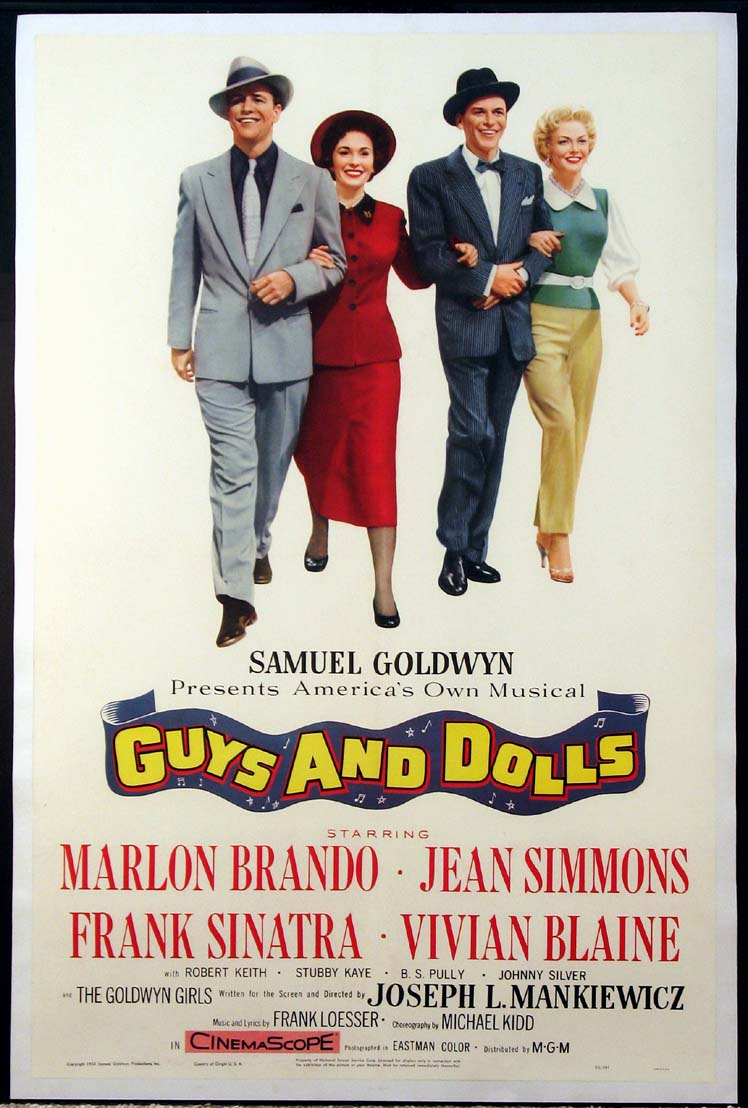GUYS AND DOLLS (Guys & Dolls) @ FilmPosters.com