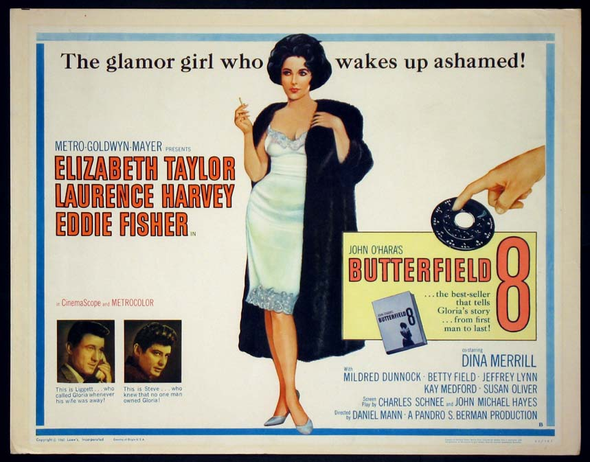 BUTTERFIELD 8 @ FilmPosters.com