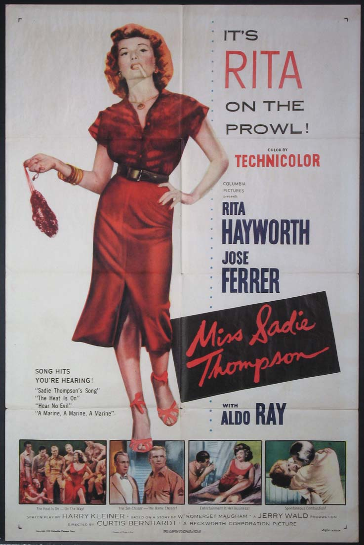 MISS SADIE THOMPSON @ FilmPosters.com