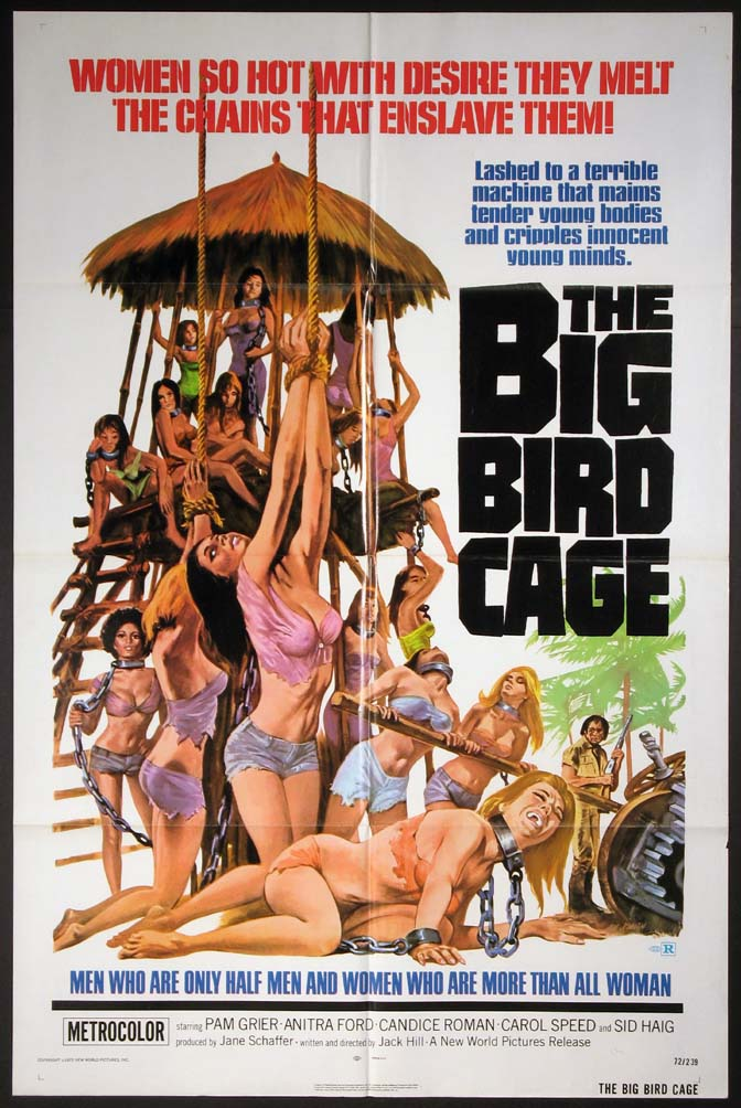 BIG BIRD CAGE, THE @ FilmPosters.com