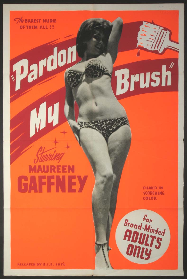 PARDON MY BRUSH @ FilmPosters.com