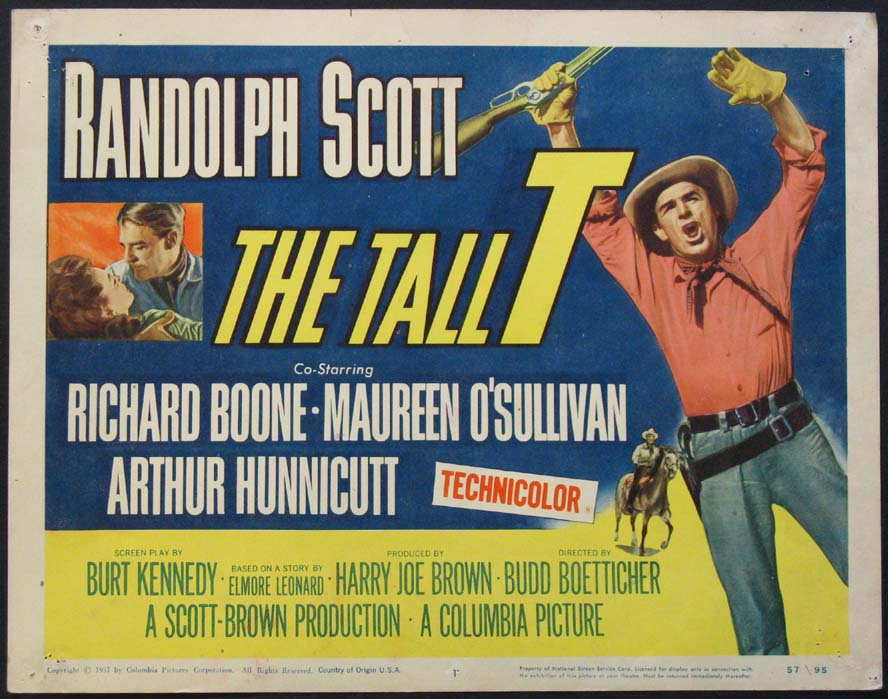 TALL T, THE (The Tall T) @ FilmPosters.com