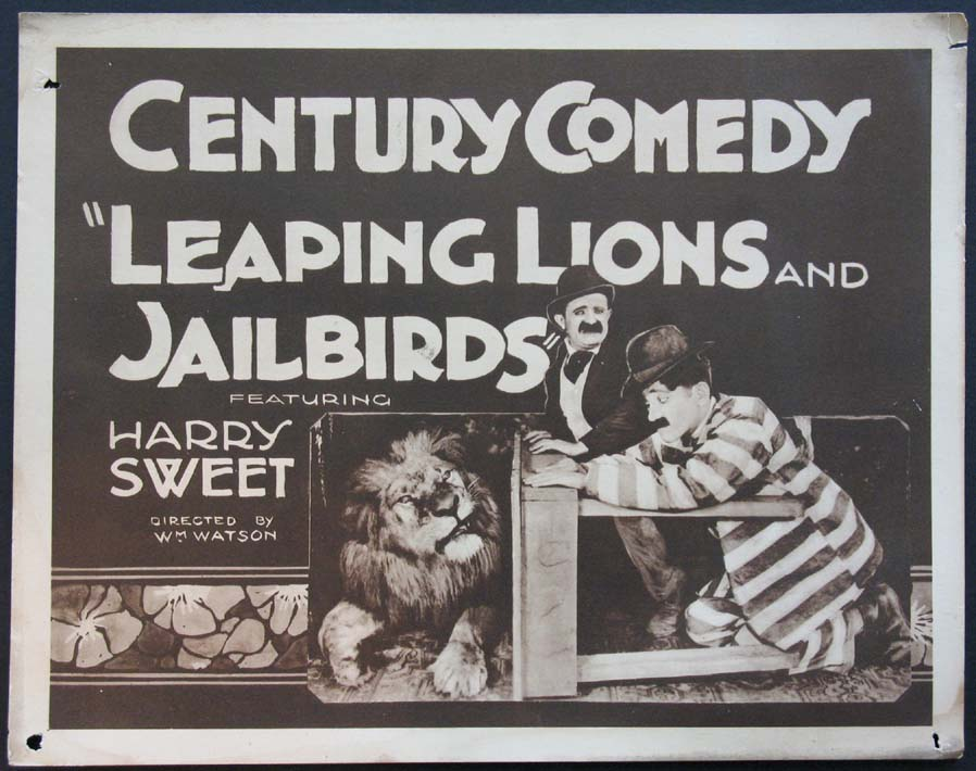 LEAPING LIONS AND JAILBIRDS @ FilmPosters.com