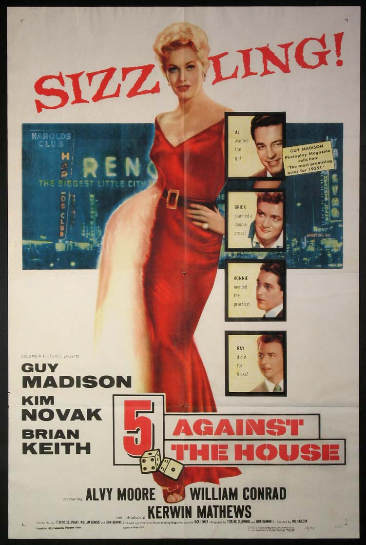 FIVE AGAINST THE HOUSE (5 Against the House) @ FilmPosters.com