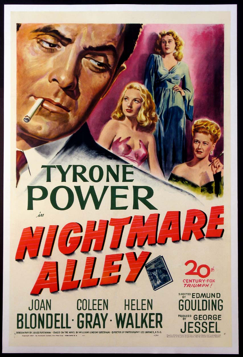 NIGHTMARE ALLEY @ FilmPosters.com