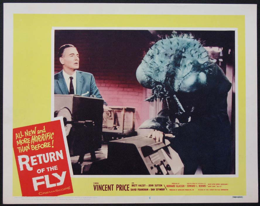 RETURN OF THE FLY, THE @ FilmPosters.com
