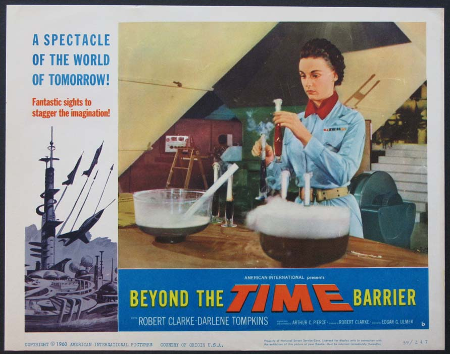 BEYOND THE TIME BARRIER @ FilmPosters.com