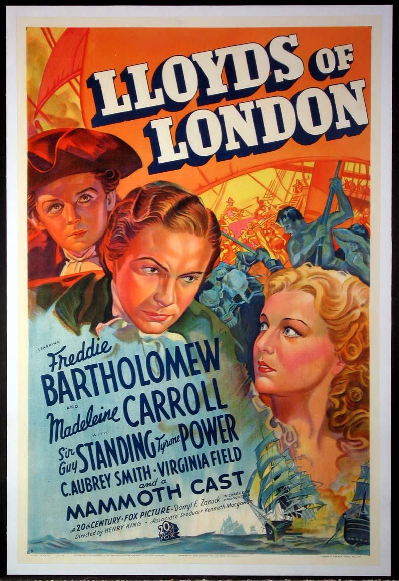LLOYD'S OF LONDON @ FilmPosters.com