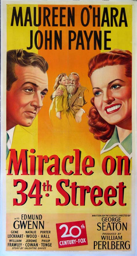 MIRACLE ON 34TH STREET @ FilmPosters.com