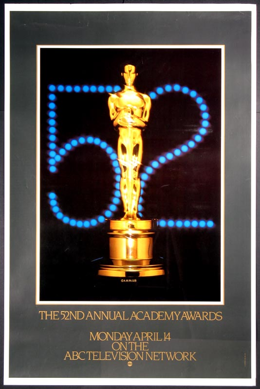 ACADEMY AWARDS, 52nd Annual (Oscar) @ FilmPosters.com