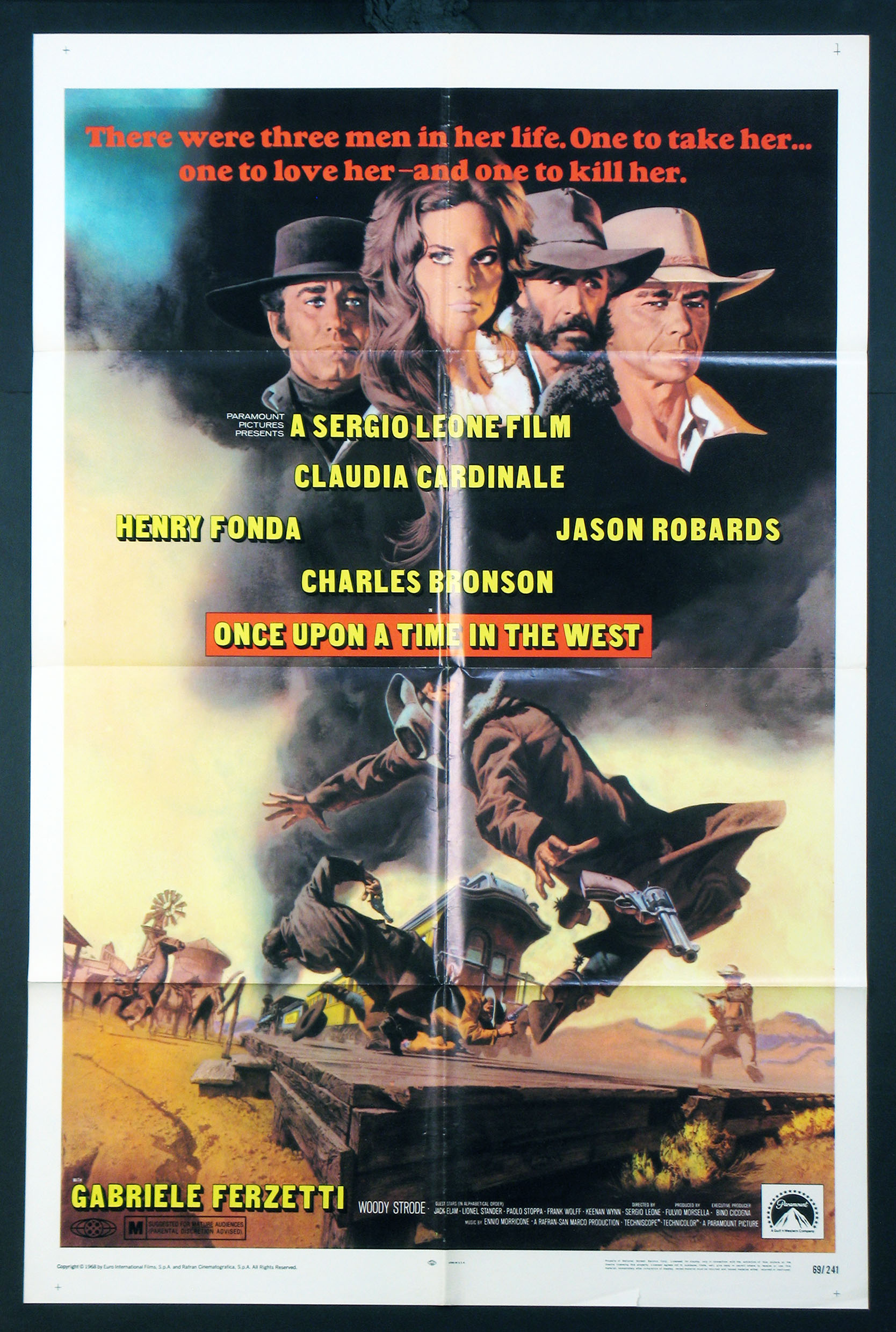 ONCE UPON A TIME IN THE WEST @ FilmPosters.com