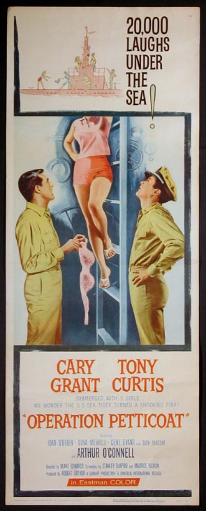 OPERATION PETTICOAT @ FilmPosters.com