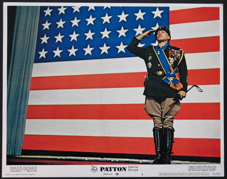 PATTON @ FilmPosters.com