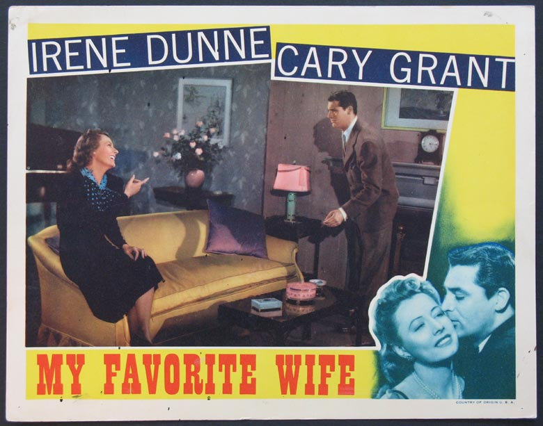 MY FAVORITE WIFE @ FilmPosters.com