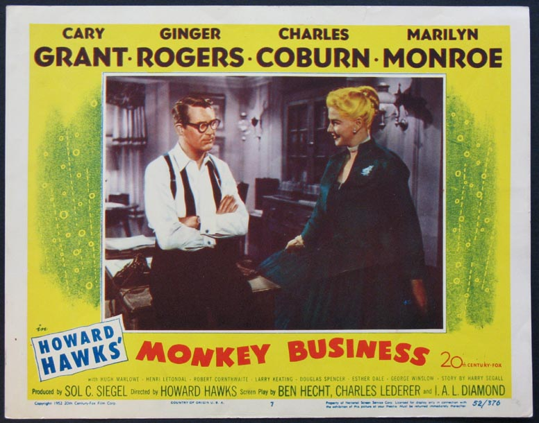 MONKEY BUSINESS @ FilmPosters.com