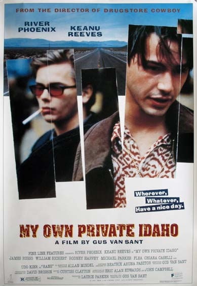 MY OWN PRIVATE IDAHO @ FilmPosters.com