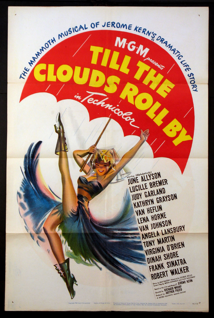 TILL THE CLOUDS ROLL BY @ FilmPosters.com