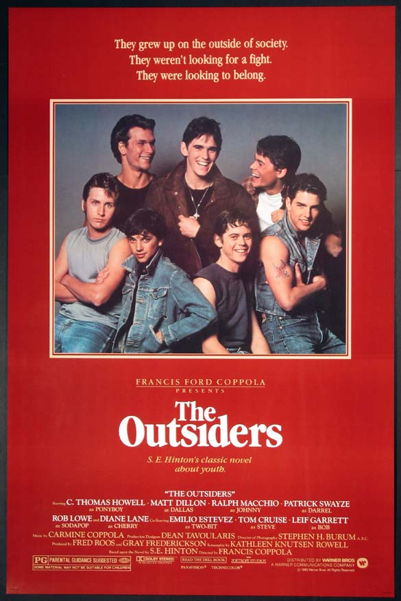 OUTSIDERS, THE (The Outsiders) @ FilmPosters.com