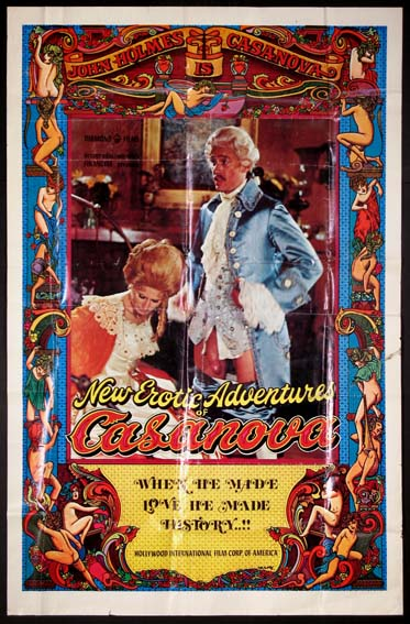 NEW EROTIC ADVENTURES OF CASANOVA @ FilmPosters.com