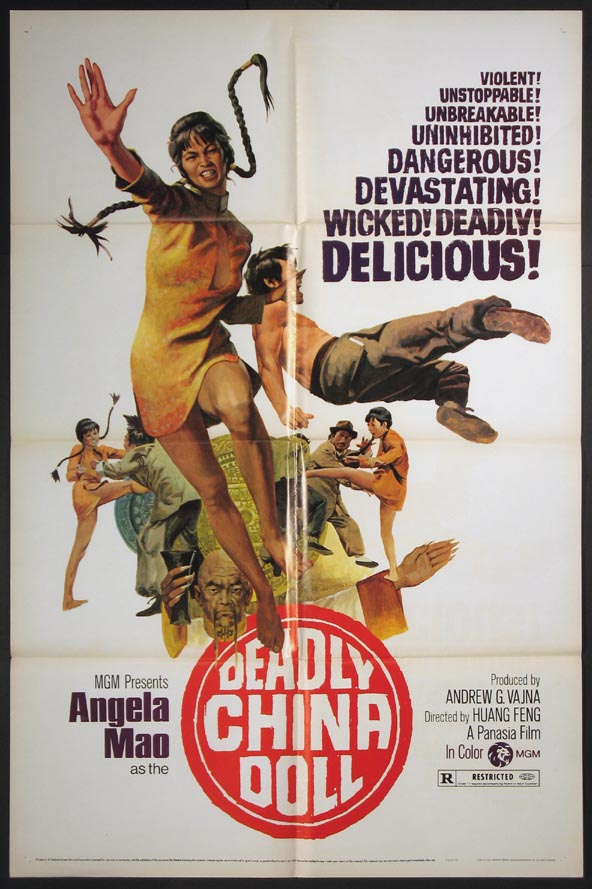 DEADLY CHINA DOLL @ FilmPosters.com