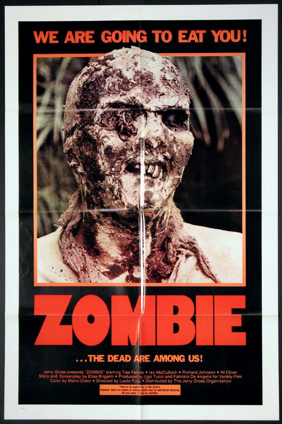 ZOMBIE @ FilmPosters.com