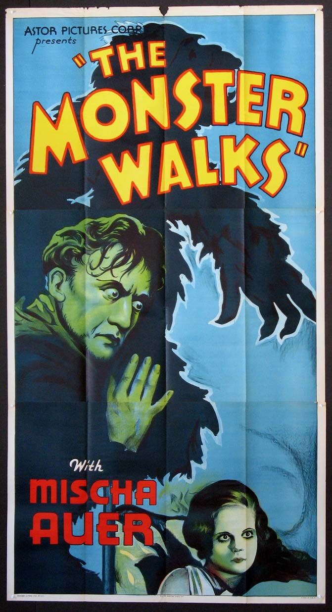 MONSTER WALKS, THE @ FilmPosters.com
