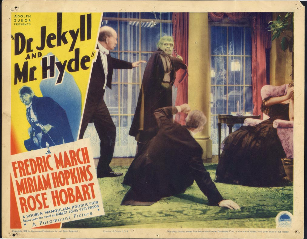 DR. JEKYLL AND MR. HYDE @ FilmPosters.com