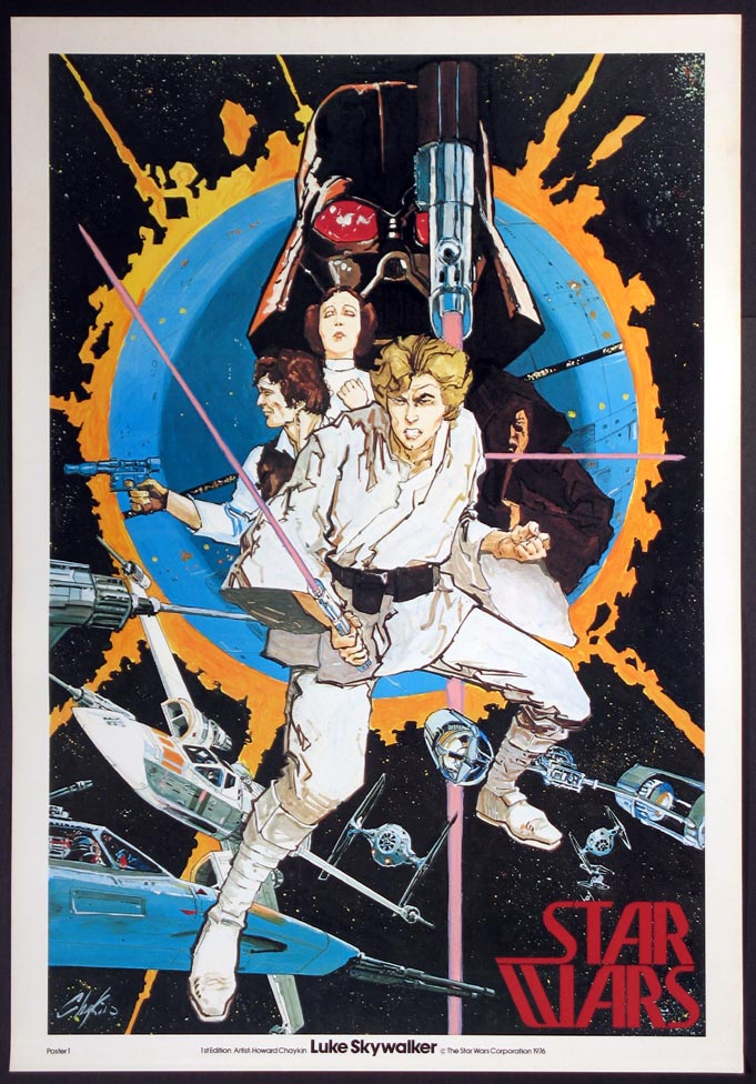 STAR WARS - Luke Skywalker @ FilmPosters.com
