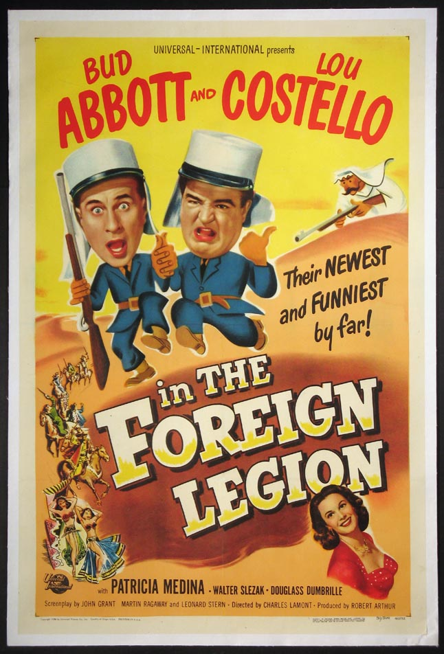 ABBOTT & COSTELLO IN THE FOREIGN LEGION @ FilmPosters.com