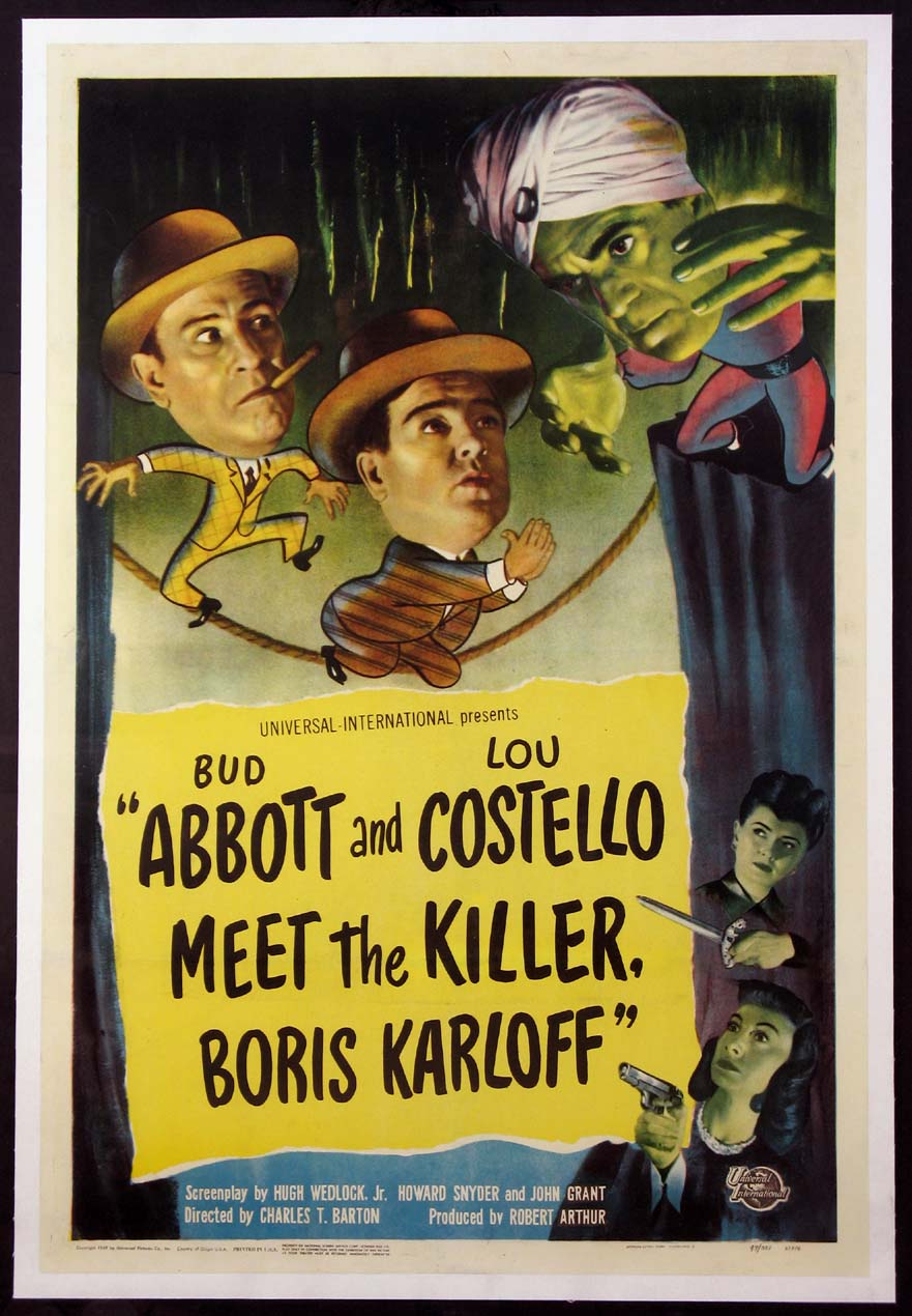 ABBOTT AND COSTELLO MEET THE KILLER, BORIS KARLOFF @ FilmPosters.com