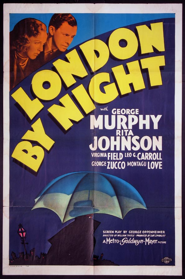 LONDON BY NIGHT @ FilmPosters.com