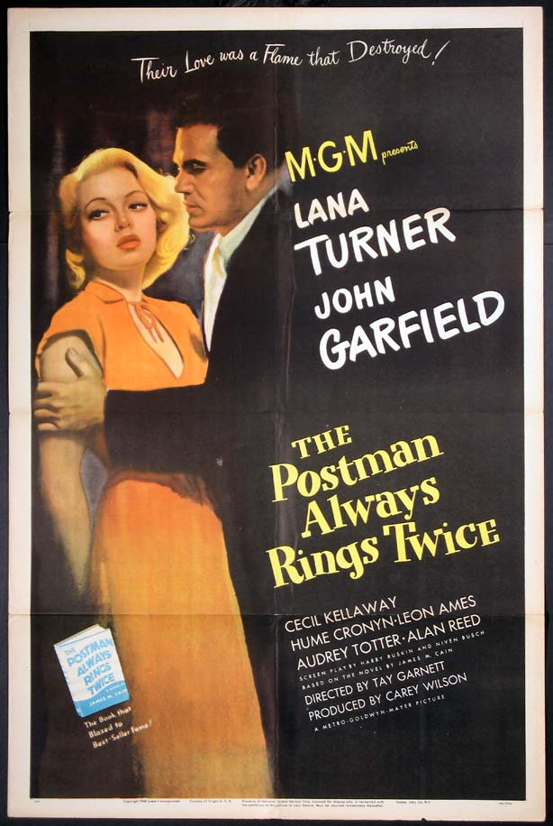 POSTMAN ALWAYS RINGS TWICE, THE @ FilmPosters.com