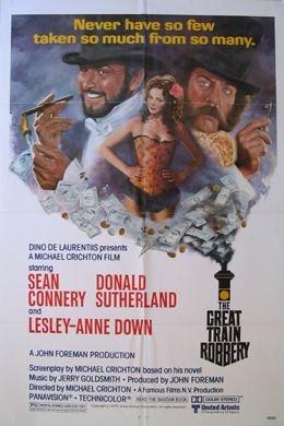 GREAT TRAIN ROBBERY, THE @ FilmPosters.com