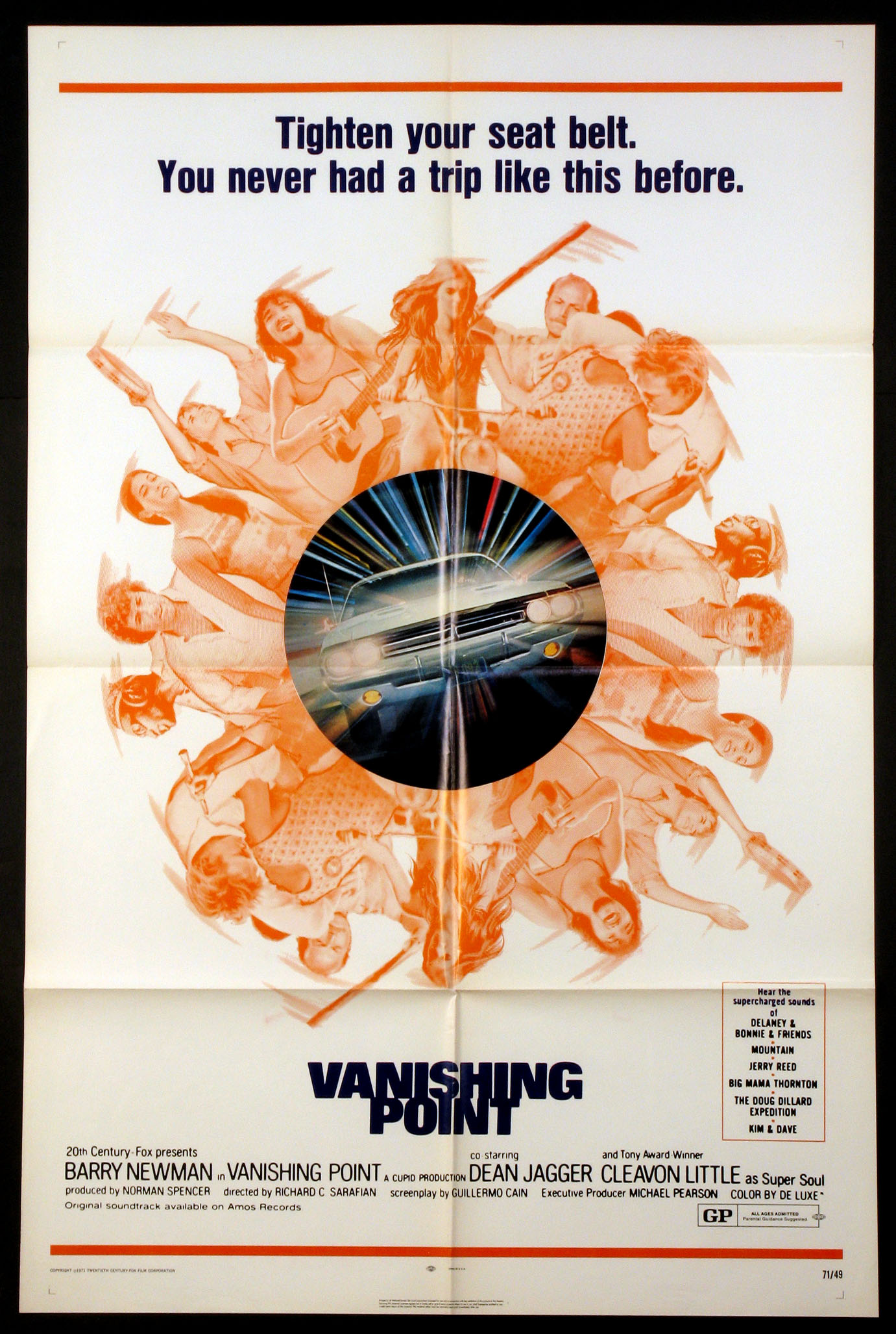 VANISHING POINT @ FilmPosters.com
