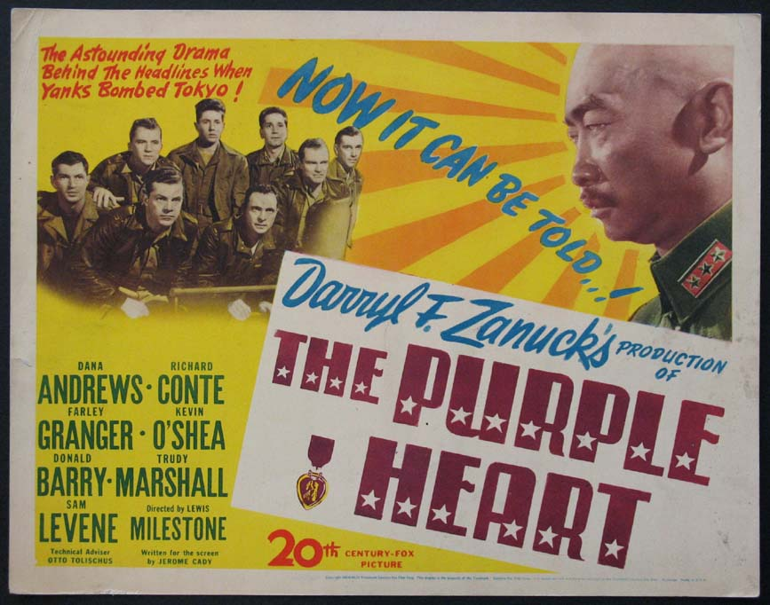 PURPLE HEART, THE @ FilmPosters.com