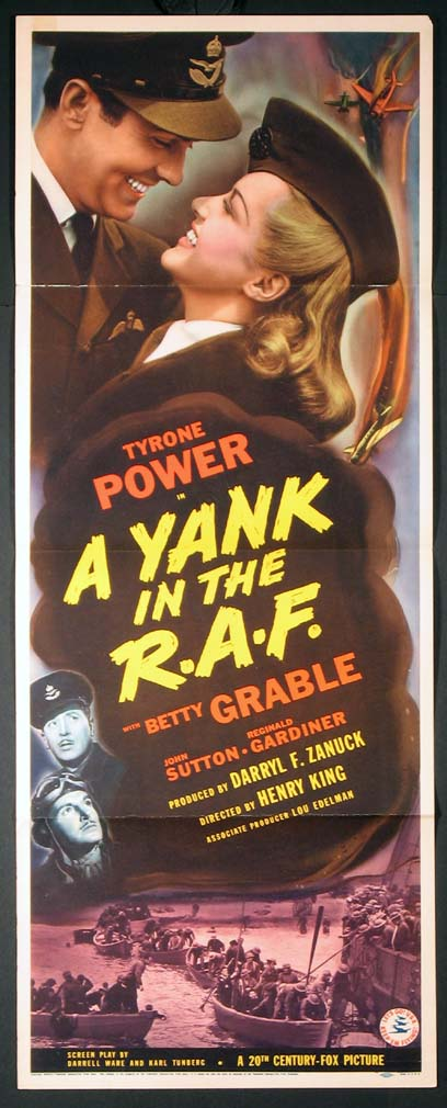 YANK IN THE R.A.F., A @ FilmPosters.com