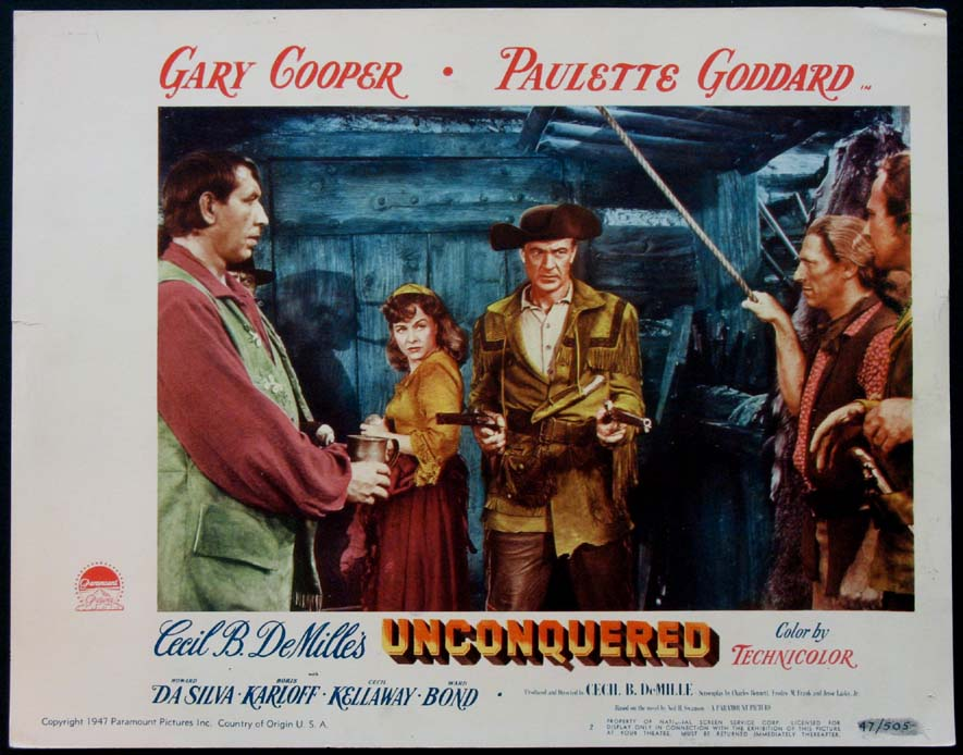 UNCONQUERED, THE (The Unconquered) @ FilmPosters.com