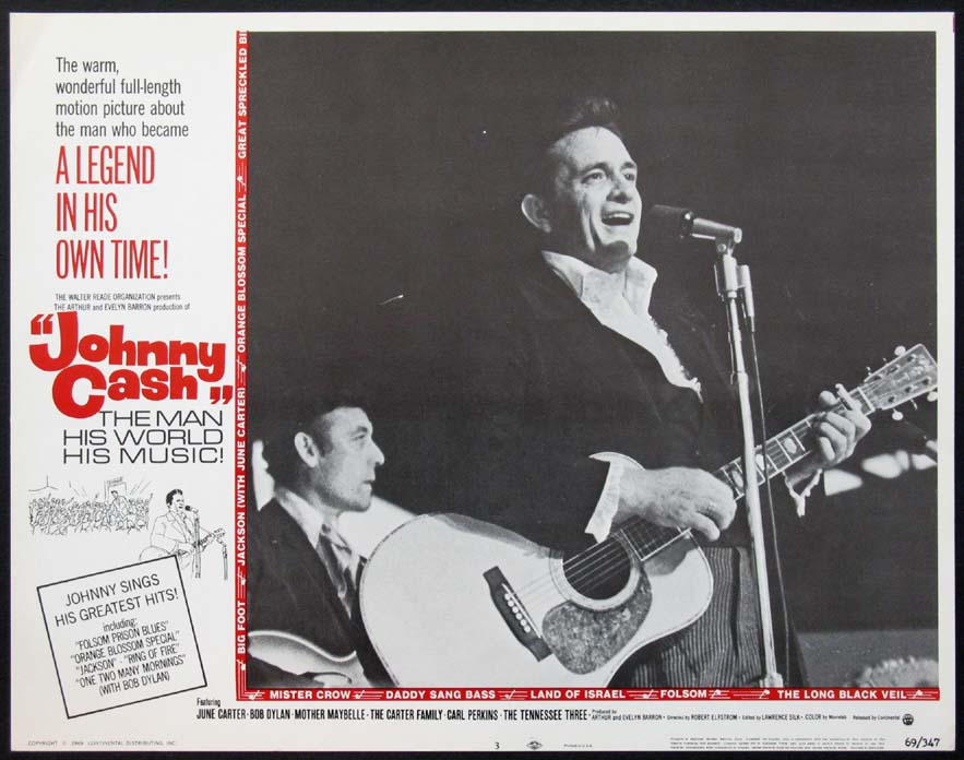 JOHNNY CASH! THE MAN, HIS WORLD, HIS MUSIC @ FilmPosters.com