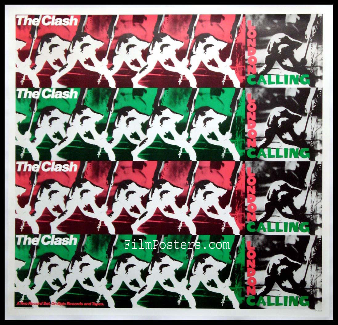 THE CLASH LONDON CALLING PROMOTIONAL POSTER @ FilmPosters.com