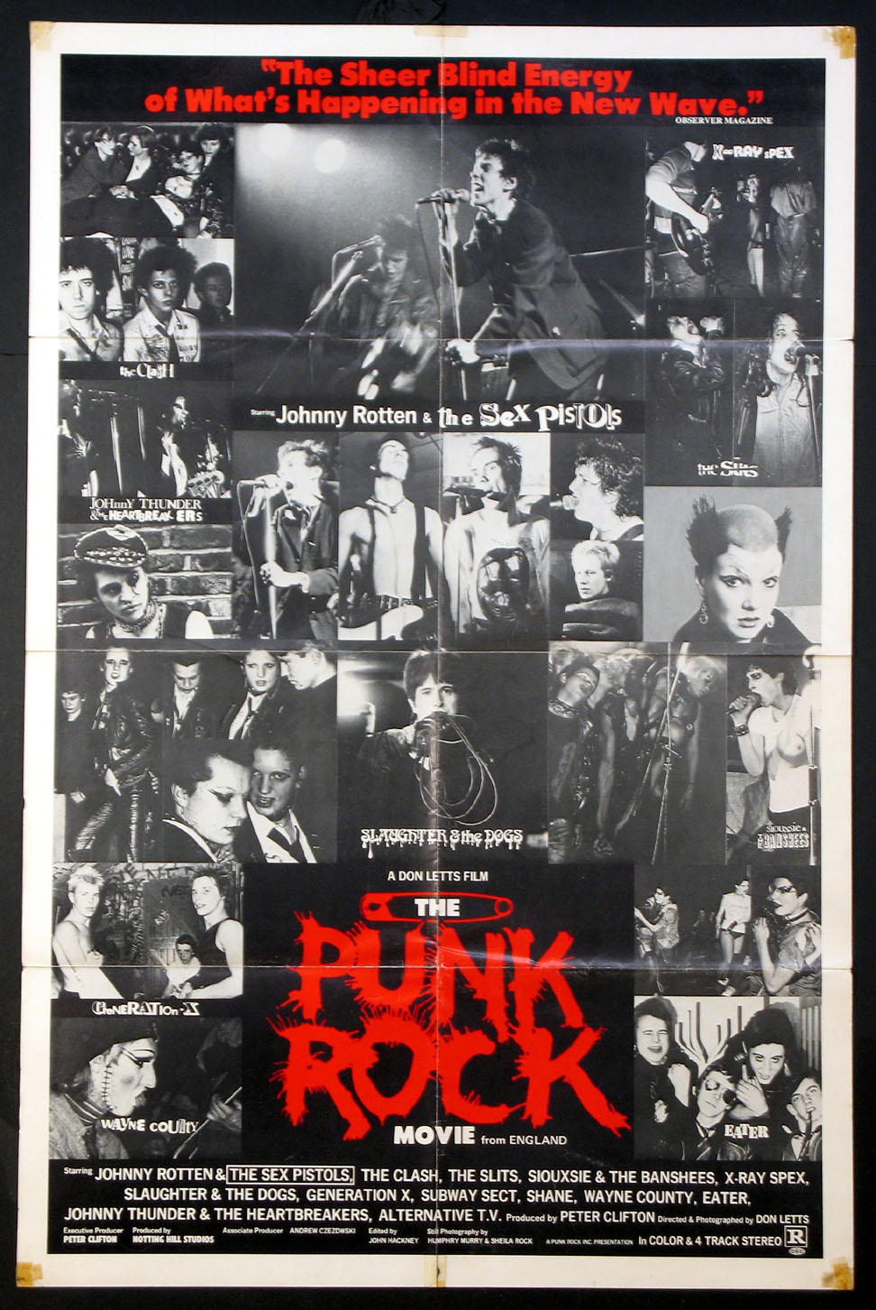PUNK ROCK MOVIE, THE @ FilmPosters.com