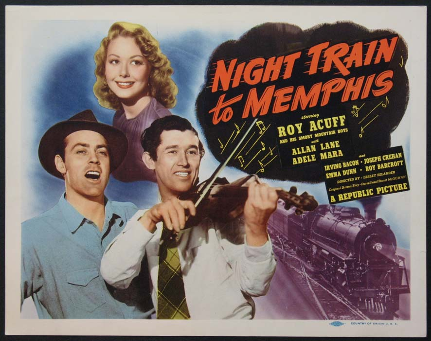 NIGHT TRAIN TO MEMPHIS @ FilmPosters.com