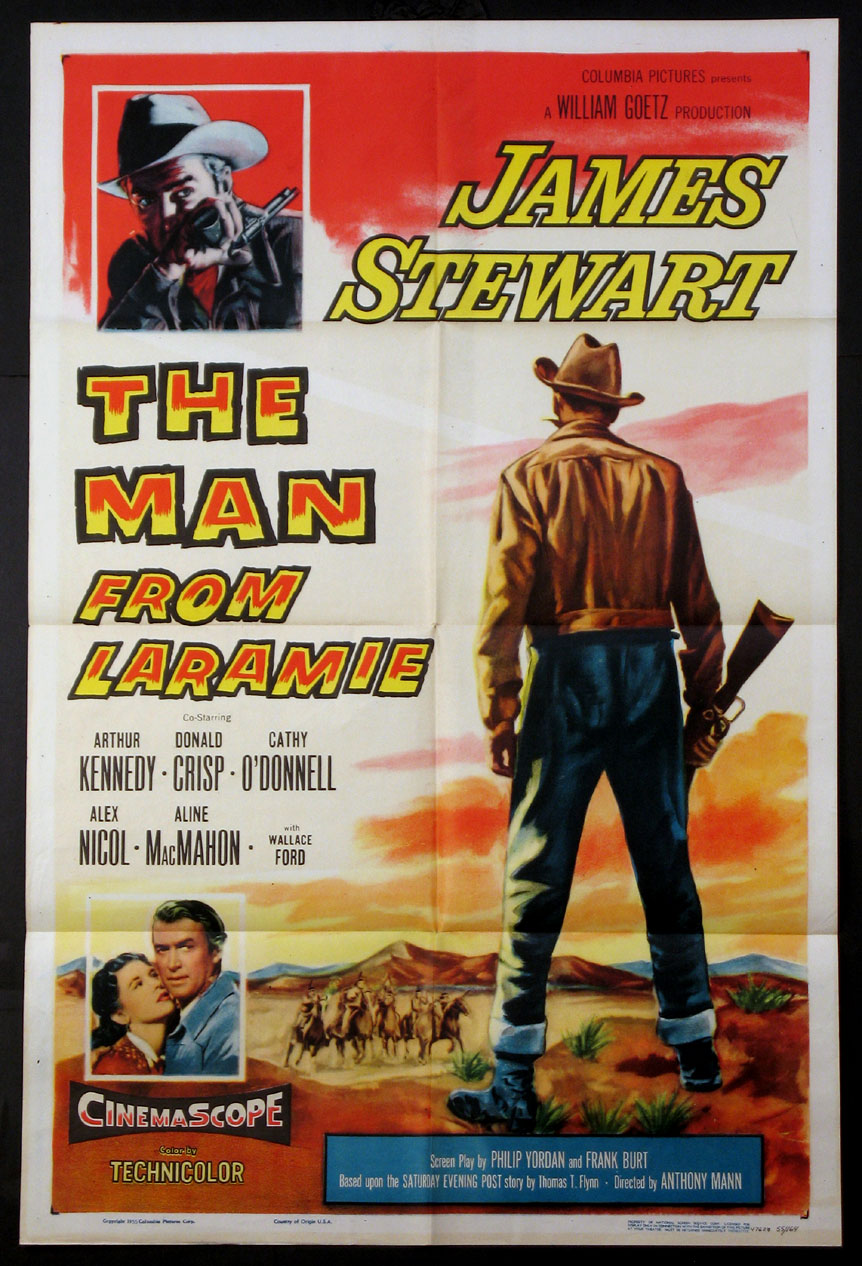 MAN FROM LARAMIE, THE @ FilmPosters.com