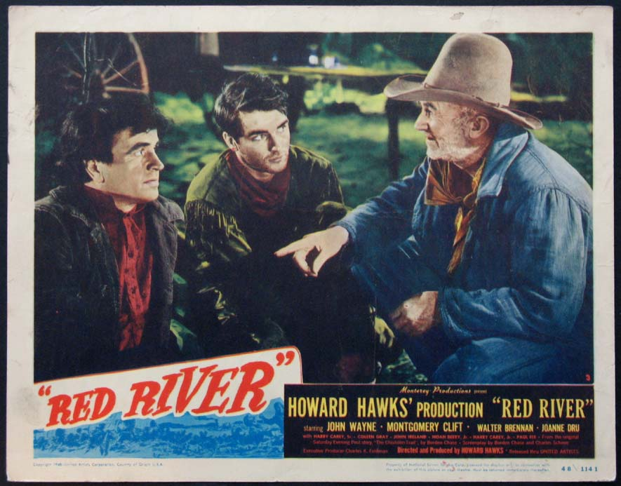 a summary of the movie red river in 1948 Red river was filmed in 1946, copyrighted in 1947, but not released until september 30, 1948 footage from red river was later incorporated into the opening montage of wayne's last film, the shootist , to illustrate the backstory of wayne's character.