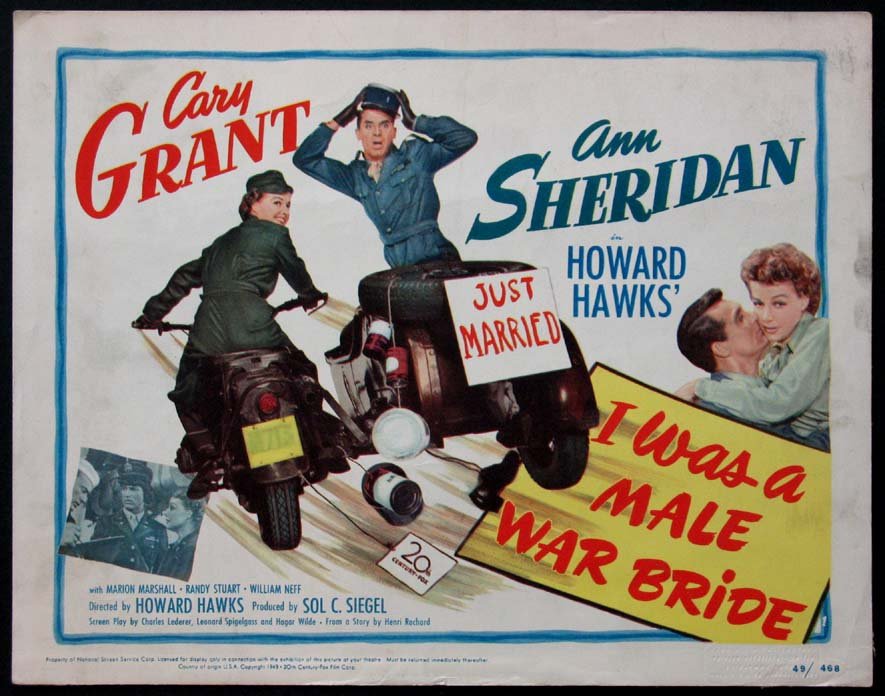 I WAS A MALE WAR BRIDE @ FilmPosters.com