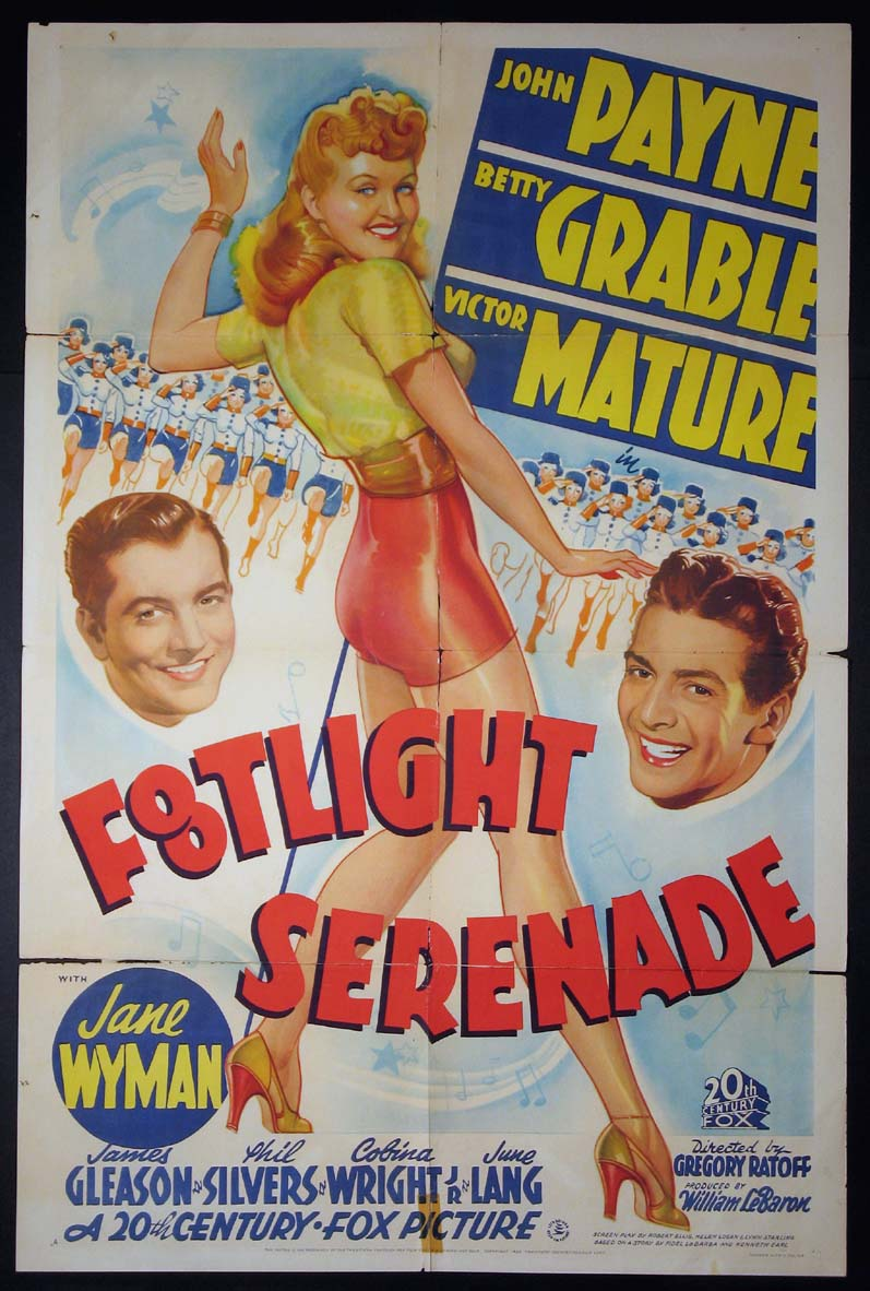 FOOTLIGHT SERENADE @ FilmPosters.com