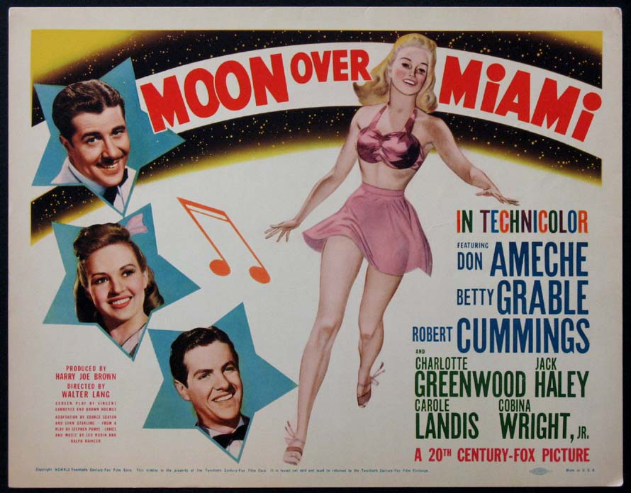 MOON OVER MIAMI @ FilmPosters.com