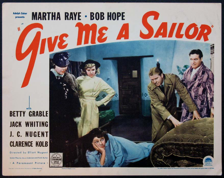 GIVE ME A SAILOR @ FilmPosters.com