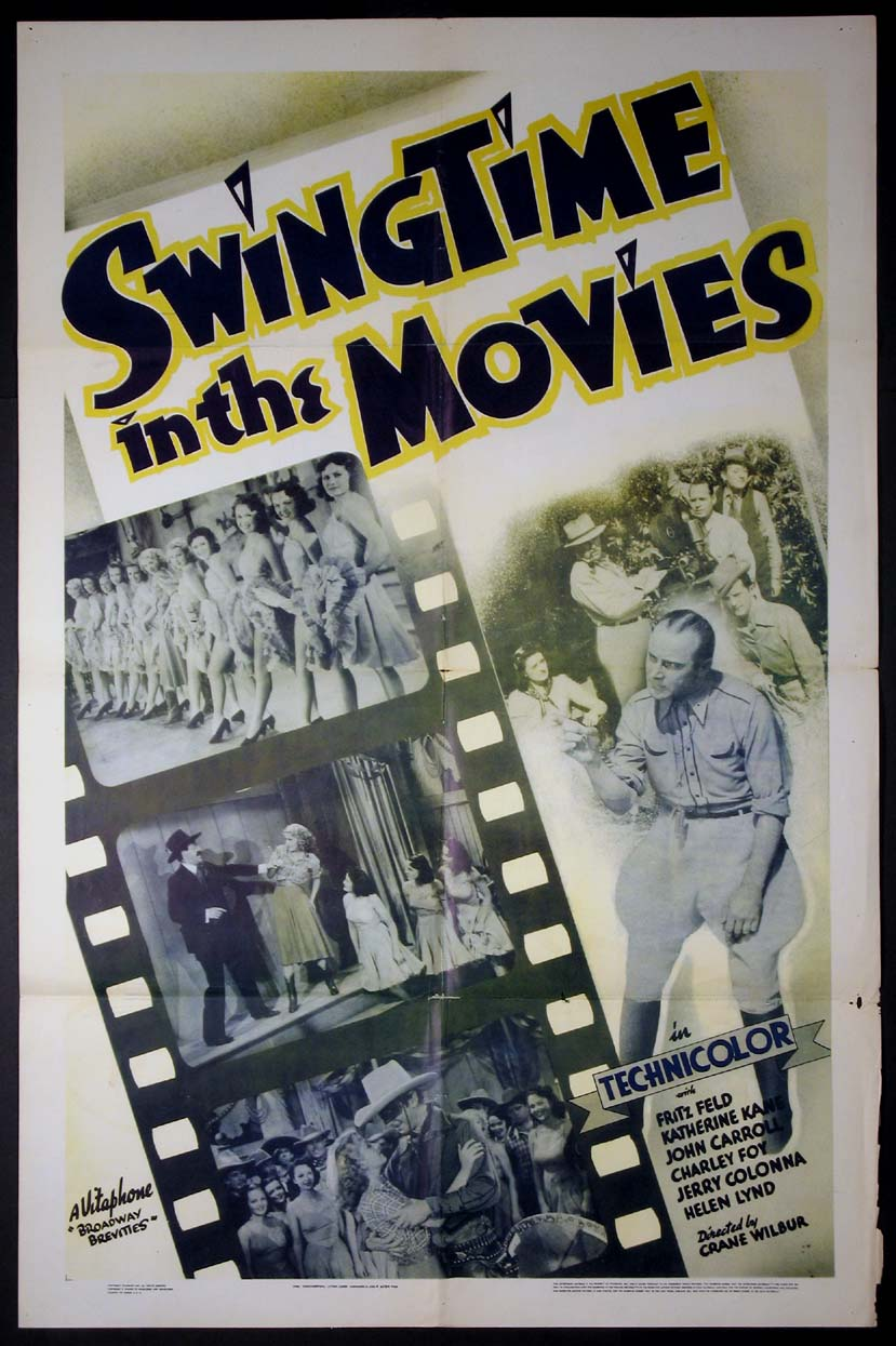 SWINGTIME IN THE MOVIES @ FilmPosters.com